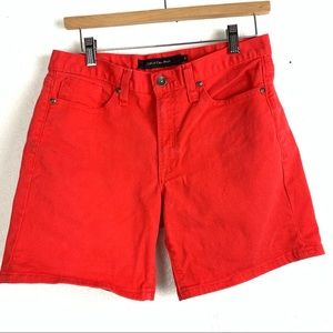 Calvin klein red shorts